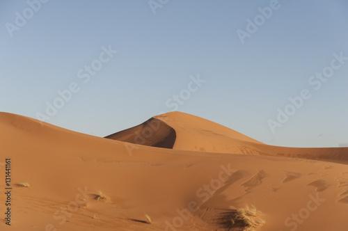 Poster Desierto de arena de Merzouga, Marruecos