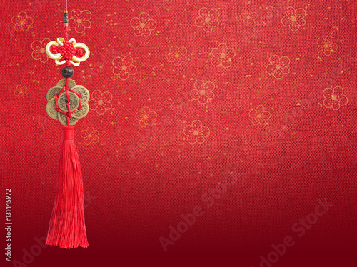 Poster Chinese new year background