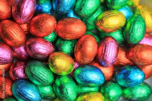 Poszter Chocolate easter eggs