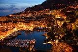 View of Fontvieille district of Monaco