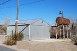 Old Volunteer Fire Station In The Desert