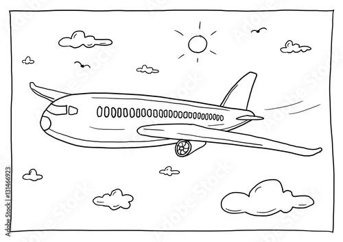 Niedlich Jumbo Jet Malvorlagen Fotos - Framing Malvorlagen ...