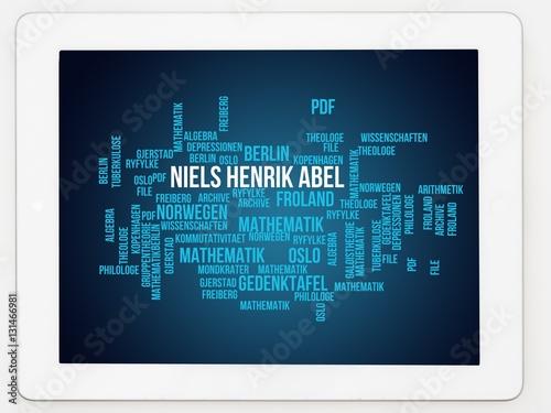 Poster Niels Henrik Abel
