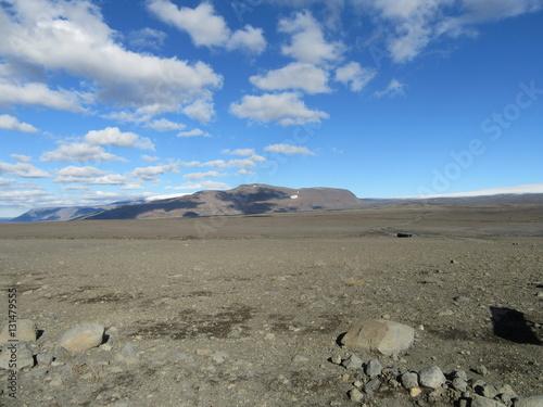 Poster Isländische Wüste