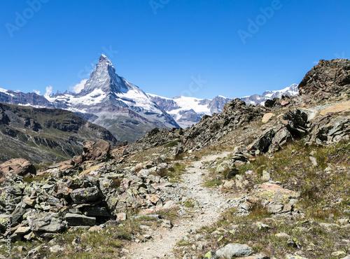 Poster Hiking in Zermatt