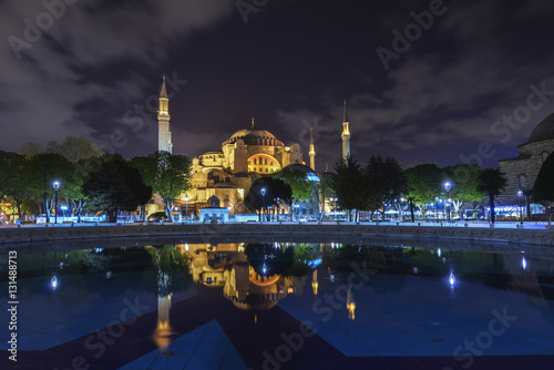 Poster Reflection of Hagia Sophia