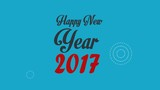 Happy New year 2017 infographics graphics