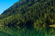 Lake Morskie Oko at Polish high Tatra mountains