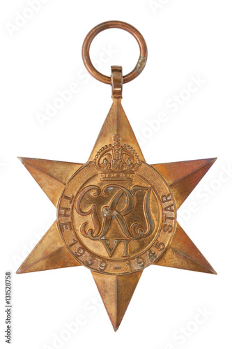 Poster The 1939-1945 Star Second World War Medal
