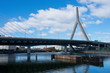 Zakim Bunker Hill Memorial Bridge in Boston, USA