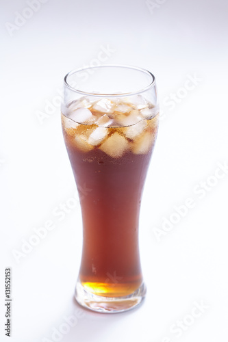 Poster drink with ice