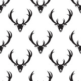 bnw deer pattern