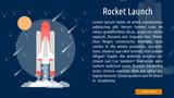 Rocket Launch Conceptual Banner