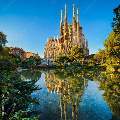 Sagrada Familia in Barcelona, Spain Poster