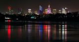 Panorama Warszawy w nocy - 131641797