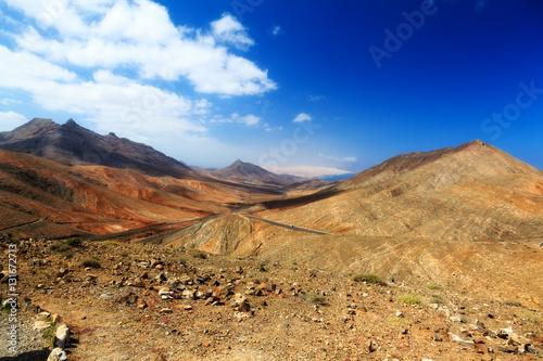 Poster Wüste auf Fuerteventura 1