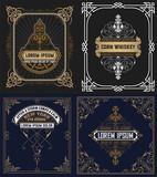 Set of vintage cards