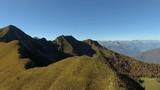Aerial 4k - Valgerola (IT) - Vista aerea del Monte Rosetta