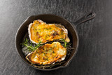牡蠣のコキール(グラタン) Coquille French food of the oyster - 131723173