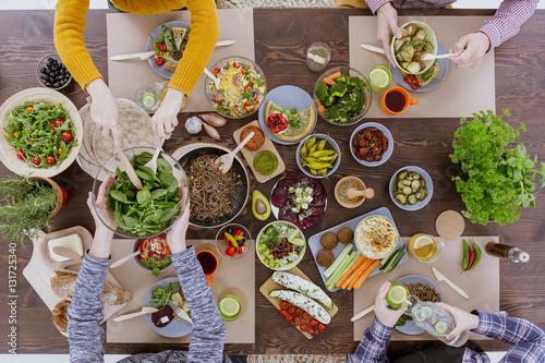 Various vegetarian food - 131725340