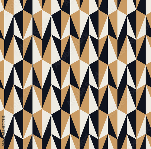 Fototapeta seamless retro pattern