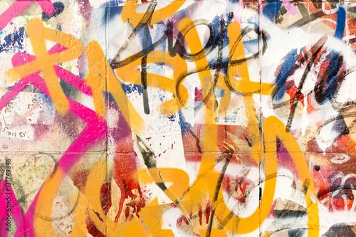 Tuinposter Graffiti Graffiti2812a
