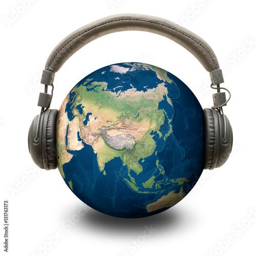 Plexiglas World music - Musica mondiale
