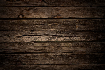 old grunge wood background, aged wooden floor texture.