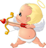 beautiful Cupid to the holiday
