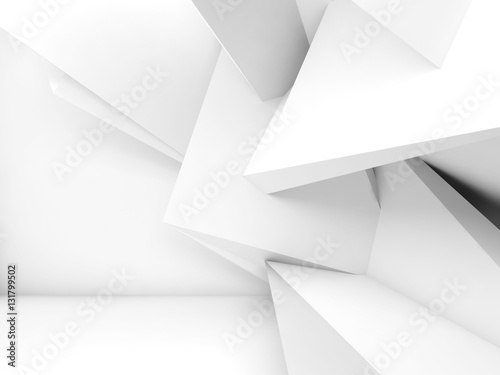 3d chaotic geometric decoration © eugenesergeev