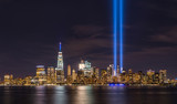 September 11th Lights from Liberty State Park  - 131803751