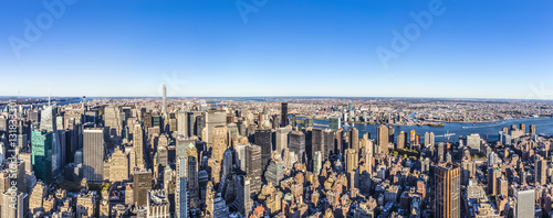 Foto op Aluminium New York specular skyline view of New York