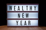 Wealthy New Year resolutions