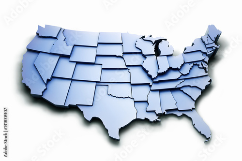 USA States with work PATH