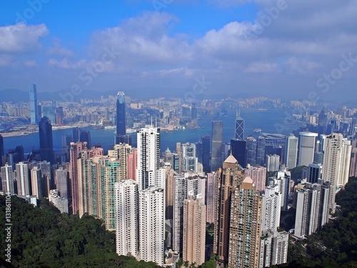 Poster Hongkong city