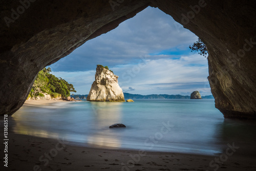 Foto op Canvas Cathedral Cove Cathedral Cove, Coromandel Peninsula, New Zealand