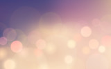 Abstract bokeh and lens flare pattern on rose quartz color blurred background (vector) - 131866773