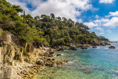 Foto op Plexiglas Cyprus Coast of Lloret de Mar i
