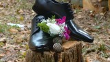 Wedding details. Groom accessories. shoes