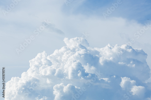 cloud above sky cloudy background - 131878176