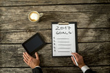Goals for the year 2017