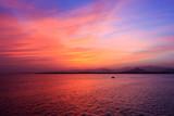 Sunset over Sharm El Sheikh.