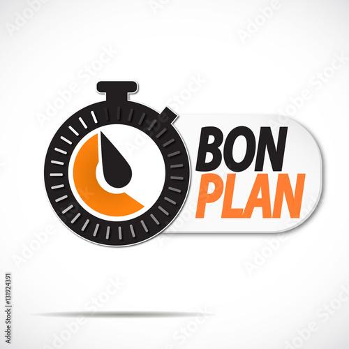 Poster chrono : bon plan