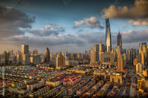 Poster Shanghai Panorama