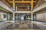 Entrance Hall of an abandoned luxury resort