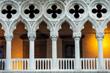 Venice, Italy's Doges Palace Illuminated