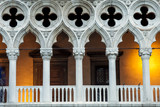 Venice, Italy's Doges Palace Illuminated - 131942137