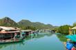 Fisherman village in Pran Buri near Hua Hin, Thailand