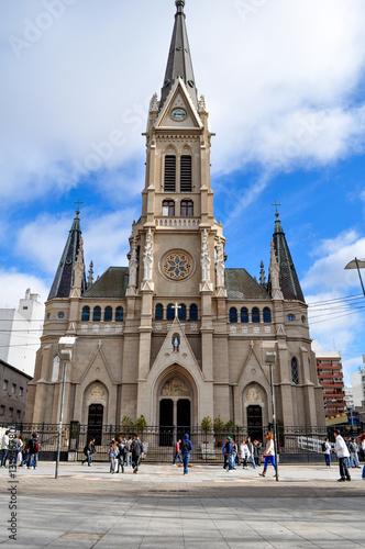 Foto op Plexiglas Buenos Aires Santos Pedro y Cecilia Cathedral in Mar del Plata, Buenos Aires, Argentina