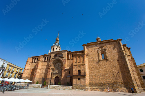 Church of Our Lady of the Assumption, Manzanares, Spain, Europe Poster
